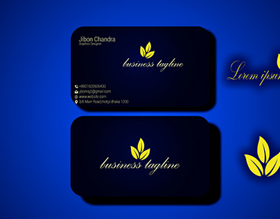i creative outstanding business card design and logo