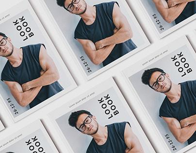 Fashion Men Lookbook Brochure A4