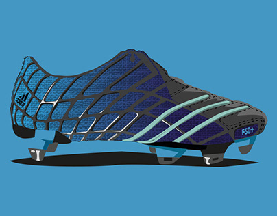 Illustration of Adidas F50 Adizero