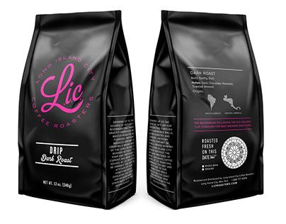 LIC COFFEE ROASTERS PACKAGING REFRESH