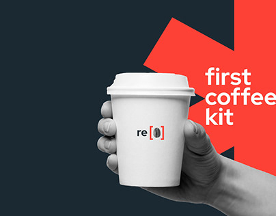 Recup. Branding for coffee vending machine