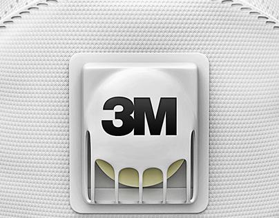 Mask 3M Aura
