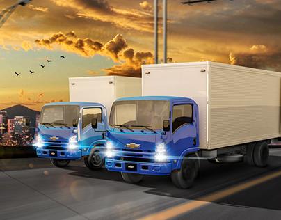 Chevrolet Trucks / Blue Edition
