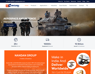 Ground Support Equipment Website - Kazi Solutions