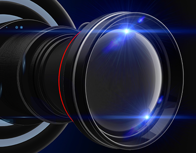 Camera Lens 3D Element for After Effects