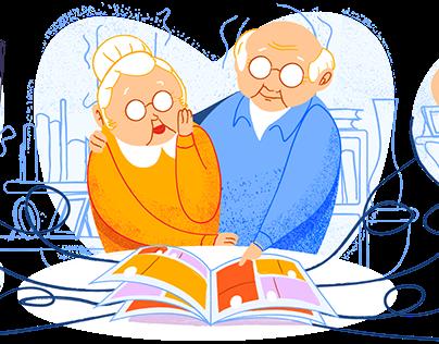 Kinsnap.family | Landing Page Illustrations