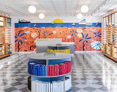 Mural Las Olas Store | Warby Parker
