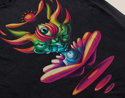 psychedelic t shirt