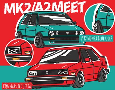 VW Mk2/A2 Meet