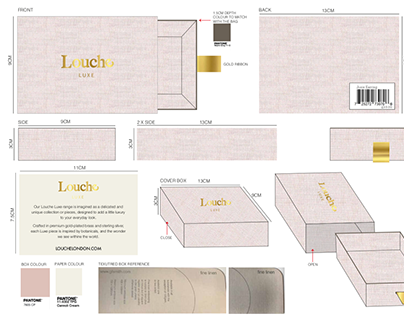 Louche Jewellery Package Design