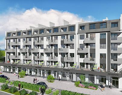 """Apartment Building """"Europe"""""""