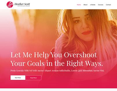 Blog Website.