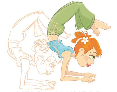 Chakra Yoga Girls
