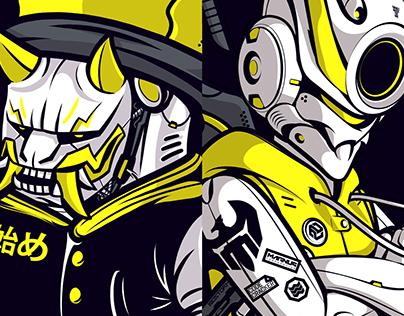 SBJKZ x CRACK : RUMBLE IN NEO TOKYO 2329