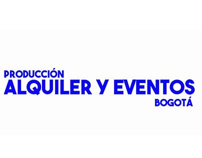 Comercial para redes, Alquiler y Eventos Bogotá.