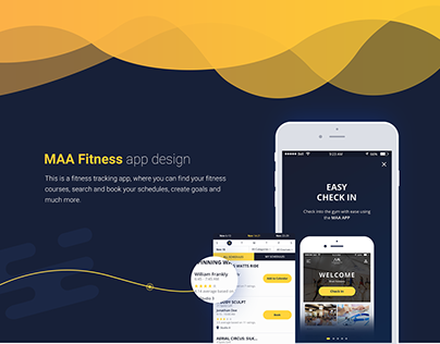 MAA Fitness App Interaction Design