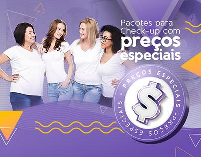 Promo Preços especiais - Clinica da MAMA