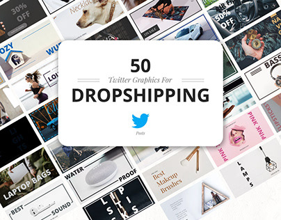 50 Twitter Dropshipping Graphics