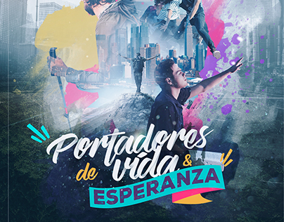 Portadores de Vida & Esperanza - Poster