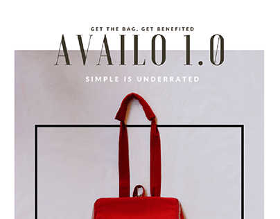 AVAILO 1.0 BAG PROJECT