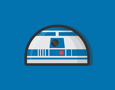 R2-D2 Illustration