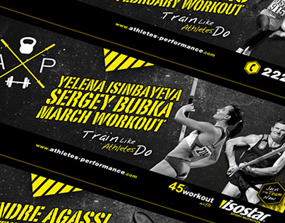Athletes Performance Facebook cover designs