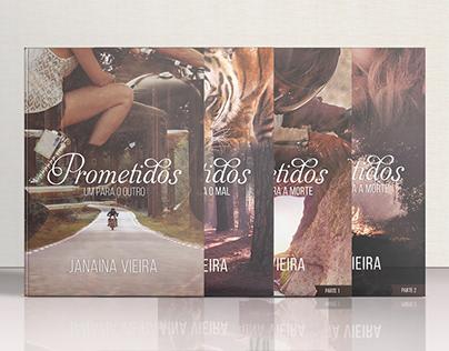 [livro] Capas • Saga Prometidos