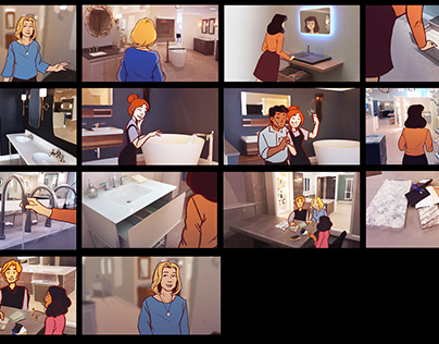 Frank Webb Home Storyboards