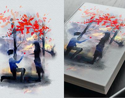 Watercolor solitary