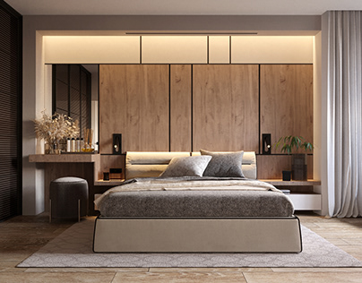 Interior design project of apartment in Kyiv #AP64