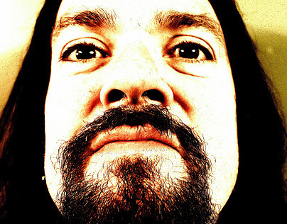 Portrait Prong frontman Tommy Victor