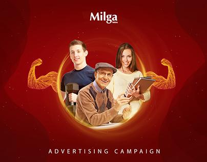 Milga - Advertising Campaign