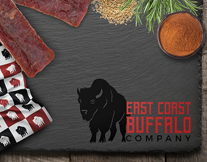 East Coast Buffalo Co Visual Identity and Packaging