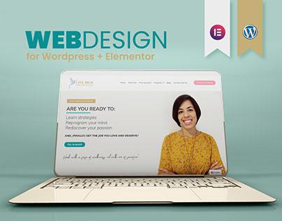 I Fly High - UI UX Web Design