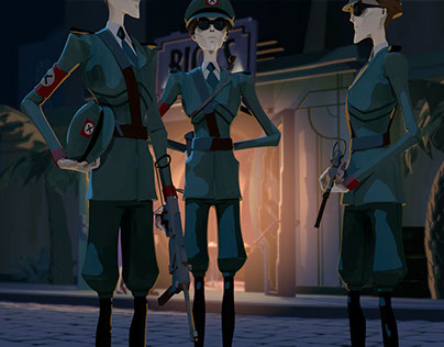 Animated Casablanca trailer