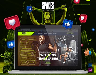 Spaces - Talent / Hack UI/UX Design