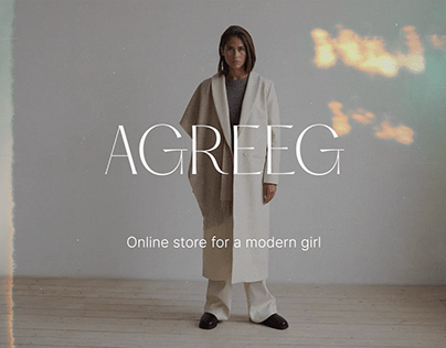 Agreeg e-commerce website redesign