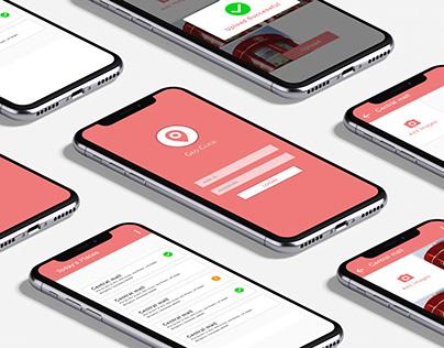Geo Click | Mobile App