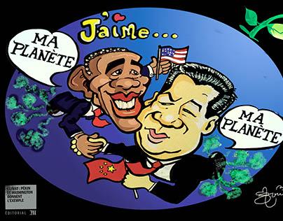 Climat:Pékin et Washington donnent l'exemple!