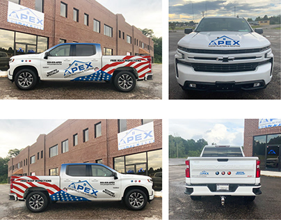 Truck Wrapping Templates