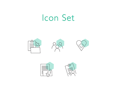 Website Icon Set