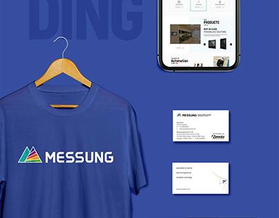 MESSUNG - Brand Design & Website Design & Development