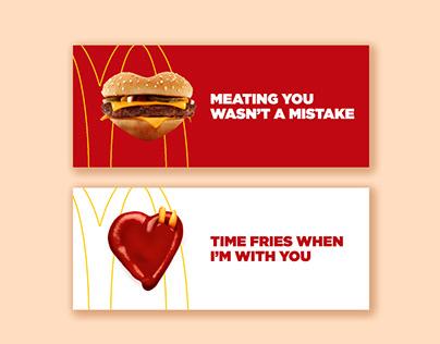 McDonald's Valentine's Advertisement