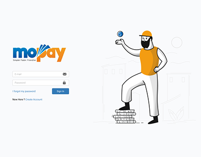 Mopay Auth Page
