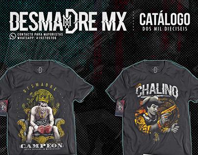 catálogo DESMADREMX