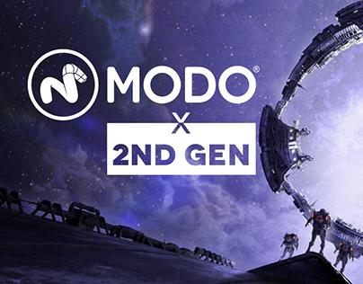 Illustrazione 3d - Modo 2nd Gen Competition