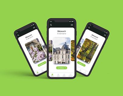 Domaine de Cheverny - Création de l'application mobile