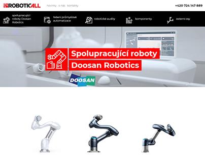 Tvorba webu - Roboticall (2020)