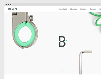 Blaze Website