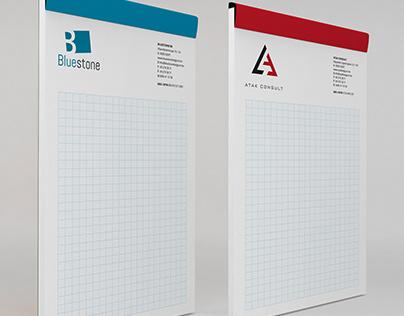 Notebooks Atak consult and Bluestone